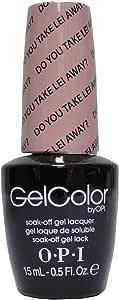 OPI GelColor Soak Off LED/UV Gel Nail Polish H67 Do You Take Lei Away? 15ml