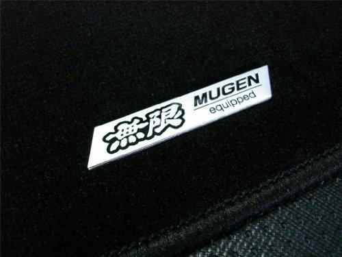 Acura Integra Carpet Floor Mats (Mugen Equipped Black Floor Mats Carpet Rug 5 PC piece set JDM for Acura Integra GSR LS 94 95 96 97 98 99 00 01 1994 1995 1996 1997 1998 1999 2000 2001)