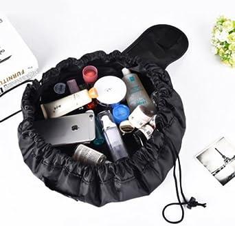 Alboe Box Makeup/Travel väska 2-pack Svart: Amazon.es: Ropa y accesorios