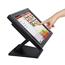 "ANGEL POS 15"" Touch Screen POS LED TouchScreen Monitor for Restaurant, Kiosk, Retail"