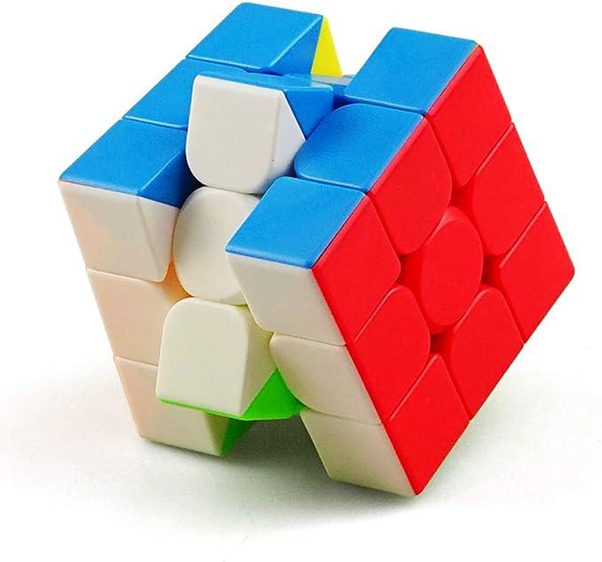 150 opinioni per HJXDtech- 3x3x3 Magic Cube Ultra-Smooth Magic Puzzle Colorato Sticker Cube,