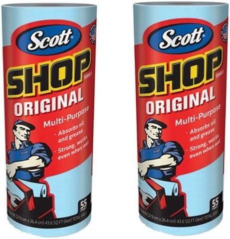 55 Towels Scott 75130 Shop Towels 3 Pack