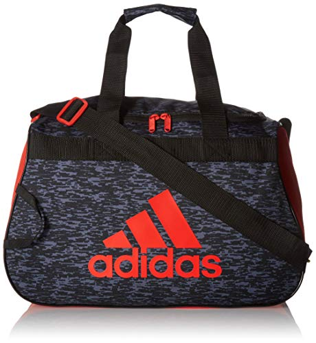 (adidas Diablo Small Duffel, Black Bookend/Black/Active Red, One)