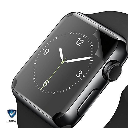 EXINOZ Apple Watch Screen Protector I Protection with 1-Year Replacement Warranty I Get the Best for Your Apple Smart Watch (42mm 2 Pack) by EXINOZ (Image #2)