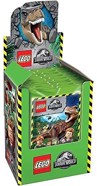 Topps Caja de 25 Sobres de Cromos Lego Jurassic: Amazon.es ...