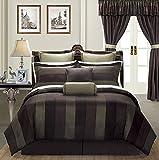 EverRouge Midnight 24-Piece Comforter Set (Queen)
