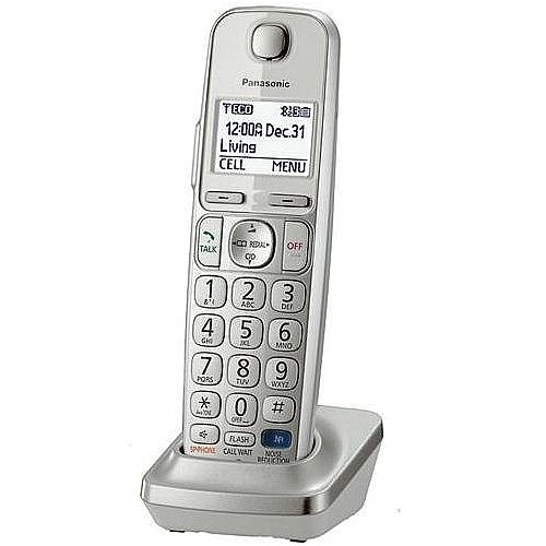 - YBS Panasonic DECT 6.0 Expansion Handset for TGE210, TGE230, TGE240, TGE260, TGE270, TG45 and TG46 Series - Silver