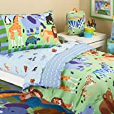 Olive Kids Wild Animals Comforter Set, Toddler