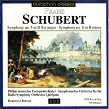Franz Schubert: Symphony No. 5 / Symphony No. 8 / Waltzes From 'Valses Nobles' / German Dance