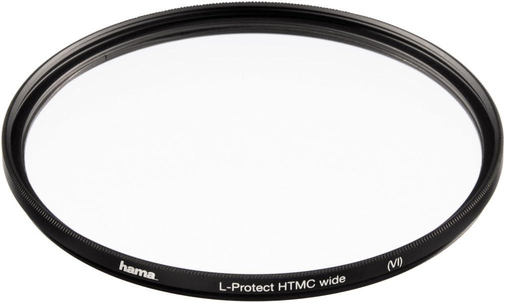 Hama Schutz-Filter HTMC 8-fach Verg/ütung Weitwinkel F/ür 55 mm Foto-Kameraobjektive