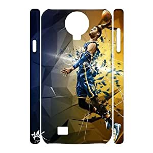 C-EUR Cell phone case Paul George Hard 3D Case For Samsung Galaxy S4 i9500