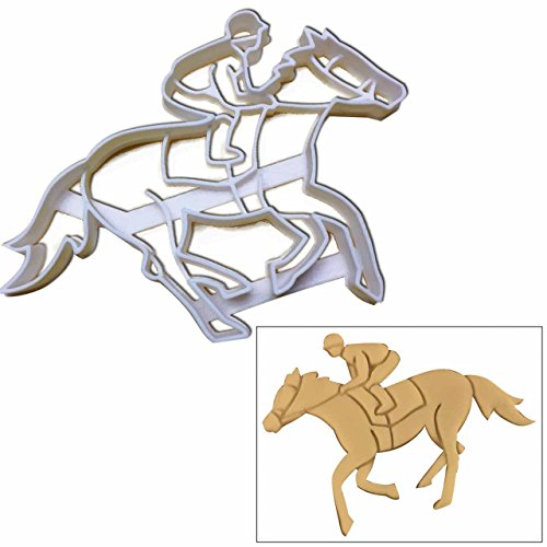 Jockey cookie cutter, 1 pc, Ideal gift for