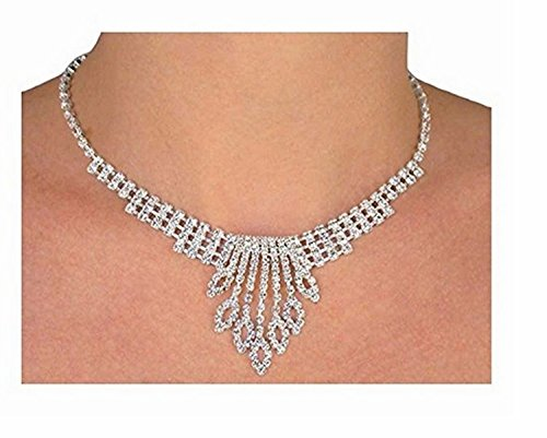 S1226ne-exquisite Genuine Austrian Crystal Necklace And Earring Set by Lonestar Jewelry