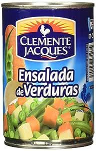 Clemente Jacques, Ensalada de verduras, 410 gramos