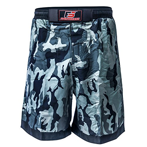 S.F. Products FS MMA Fight Kick Boxing Shorts UFC Cage Fight Grappling Muay Thai Boxing Kick Boxing Martial Art Training Clothing Uniform Camouflage Green – DiZiSports Store