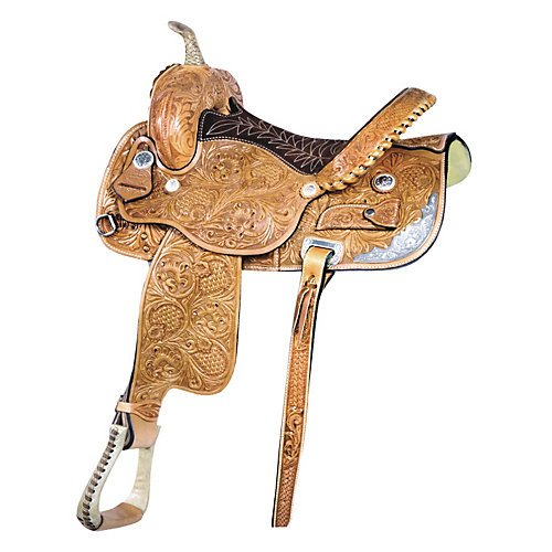 Billy Cook Saddlery Tub Turner Barrel Saddle