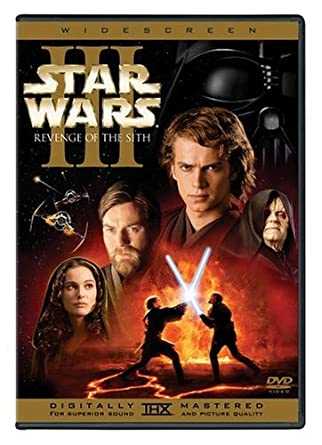 Amazon Com Star Wars Episode Iii Revenge Of The Sith Widescreen Edition Ewan Mcgregor Natalie Portman Hayden Christensen Ian Mcdiarmid Samuel L Jackson Christopher Lee Anthony Daniels Kenny Baker Frank Oz Keisha