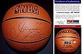 Jason Kidd Signed - Autographed Basketball - Spalding All-Court Model Ball - New Jersey Nets - Dallas Mavericks - 2011 NBA Champion - PSA/DNA Certificate of Authenticity (COA)