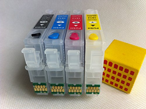 Brand F-INK@ T126 Empty Refillable Ink Cartridge For Epson Work Force435 545 840 845 645 635 630 633 60 NX330 NX430 WF 7010 WF-7510 WF-7520 WF-3540 WF-3520 printer 4pcs Empty Ink Cartridge