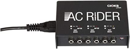 New CIOKS AC Rider Link Guitar Pedal Power Supply Free Patches!