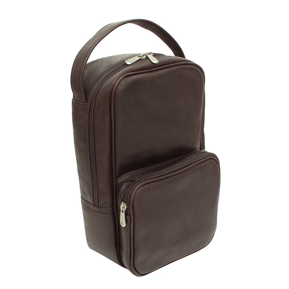 Piel Leather Carry-All Vertical Shoe Bag - by Piel Leather (Image #2)