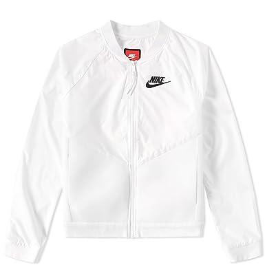 Nike Womens Jacket - Nike Tech Hypermesh Bomber White Q11e6896