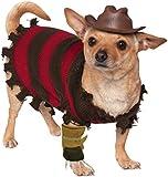 Rubies Costume Company A Nightmare on Elm Street Freddy Krueger Pet Costume, Large