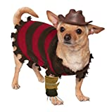 Rubie's A Nightmare on Elm Street Freddy Krueger Pet Costume, Small