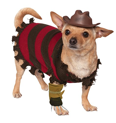 Rubie's A Nightmare on Elm Street Freddy Krueger Pet Costume, Large ()