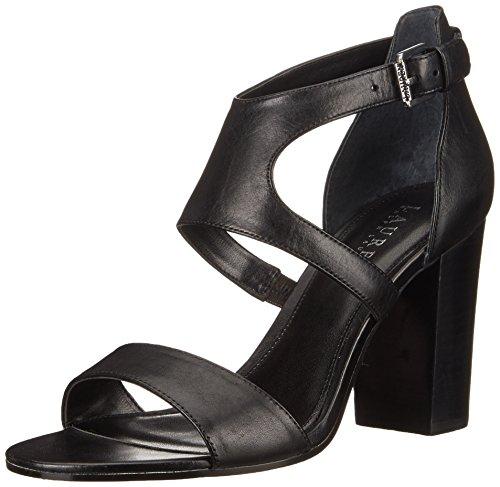 Lauren Ralph Lauren Tahira vestido de la sandalia Black