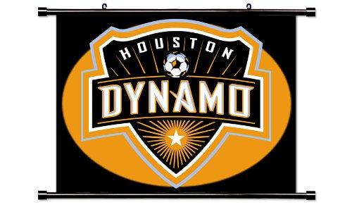 Houston Dynamo MLS Soccer Fabric Wall Scroll Poster (32x24) Inches