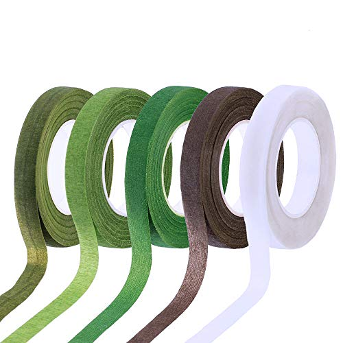 Supla 5 Colors Floral Tapes Floral adhesives - 1/2