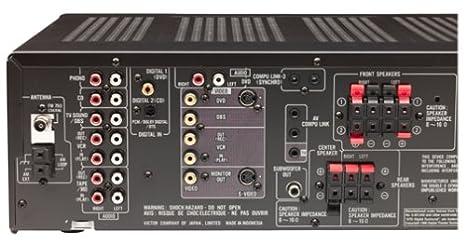 amazon com jvc rx 6000vbk dolby digital dts audio video receiver rh amazon com Manual JVC RX 6000V JVC RX-6000V Years Manufactured