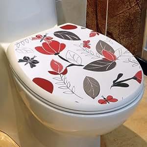 Amazon Com Apollo23 Bathroom Decor Sticker Toilet Lid