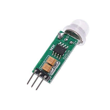 Oyamihin HC-SR505 Ajuste la detección Humana para Arduino DIY de la Placa del módulo