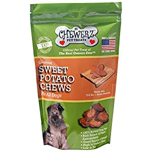 Amazon.com : Chewerz Sweet Potato Dog Treats, Made in USA