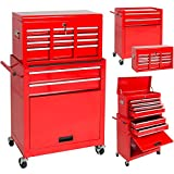 Automotive : Best Choice Products Portable Top Chest Rolling Tool Storage Box Cabinet Sliding Drawers