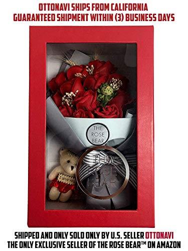 One Dozen Roses Scented Soap Artificial Floral Flower Bouquet 14