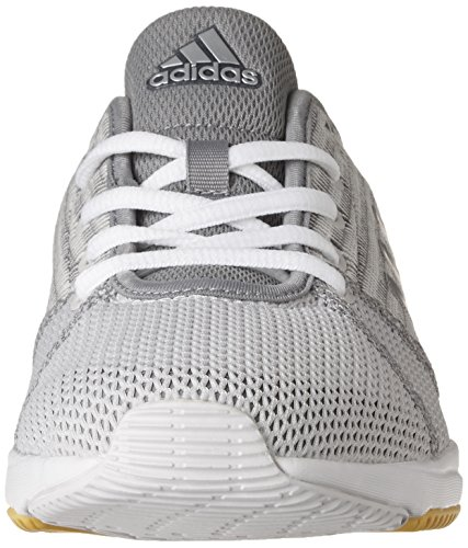 Silver Femme Adidas Cloudfoam Arianna Metallic Grey THZpBp7qwx