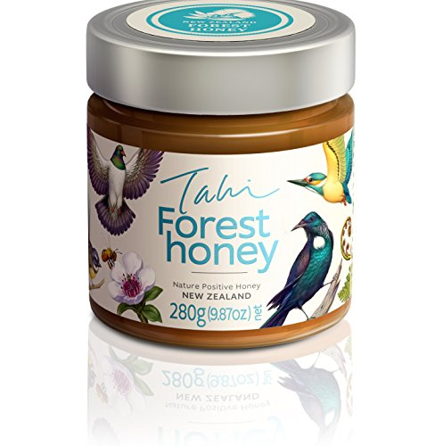 Forest Organic Honey - Forest Honey: A wild and delicious combination of manuka, kanuka, pohutukawa, rawarewa and other native New Zealand plants. Pesticide free, raw and unfiltered made byTahi (280gm glass)