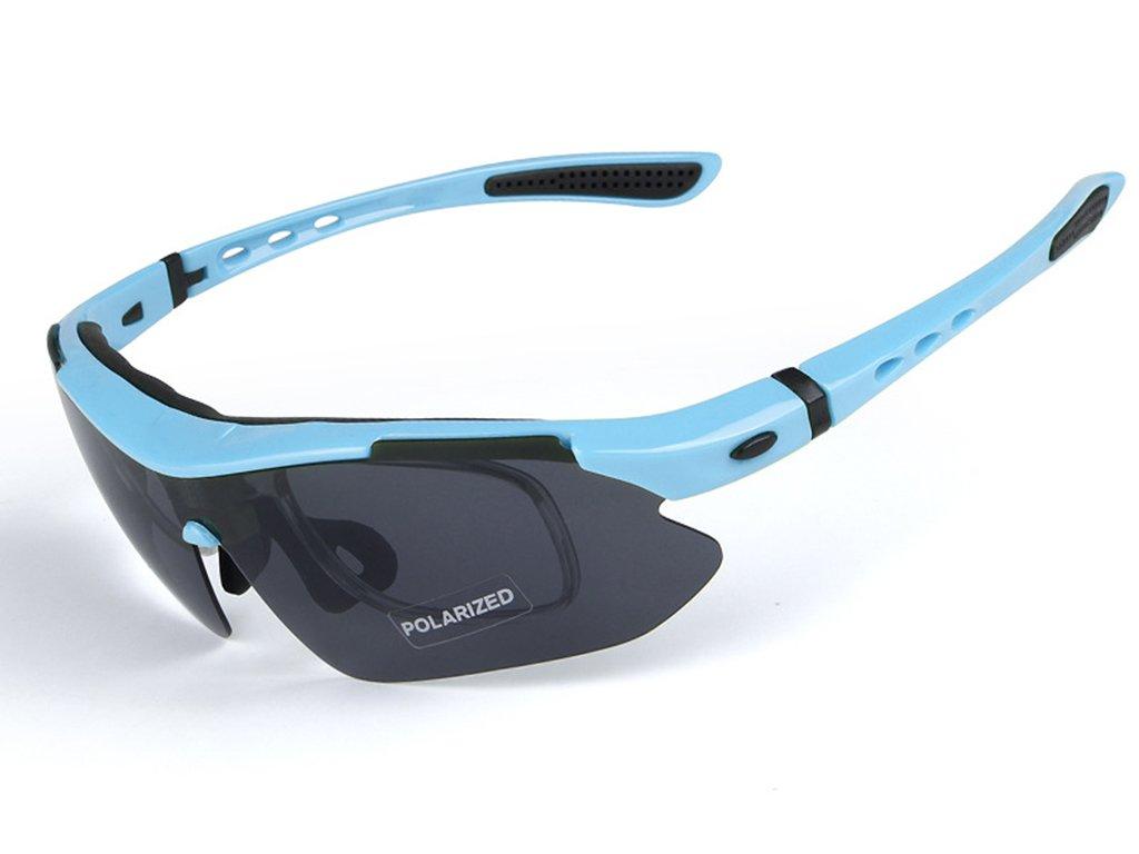 Aili Gafas de Sol polarizadas para Hombre, para Ciclismo, Bicicleta, Montaña, Bicicleta, Ciclismo, Protección, Gafas y Gafas, 5 Lentes, F: Amazon.es: ...