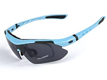Aili Gafas de Sol polarizadas para Hombre, para Ciclismo ...