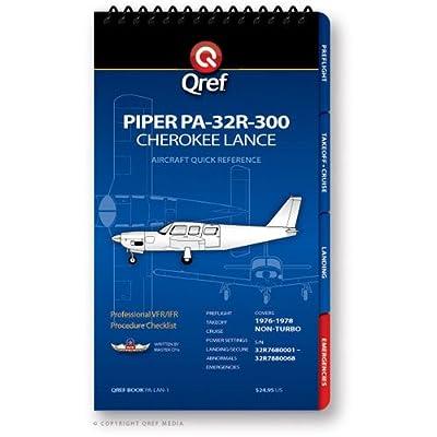 Piper Cherokee Lance PA-32R-300 Qref Checklist Book