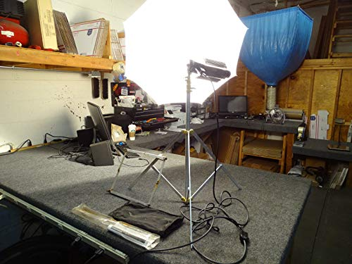 4 Light Lowel Studio Lighting Kit w/ 3 Tota, 1 Omni, 2 Stands Xtra Lamps 4 Cords ()