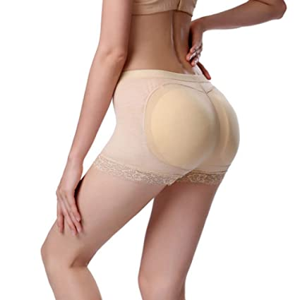 NUOVO Donna gluteo Imbottito Intimo Slip Slip Bum Lift Enhancer Pantaloni Nuovo