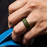 ThunderFit Silicone Rings for Men - 4 Rings / 1