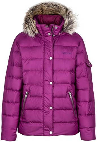 Marmot Kids Girl's Hailey Jacket (Little Kids/Big Kids) Deep Plum X-Large by Marmot