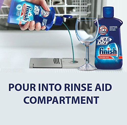 Finish Jet-Dry Solid Rinse Aid, 2.68 oz, 2 Baskets, Dishwasher Rinse Agent & Drying Agent by Finish (Image #4)