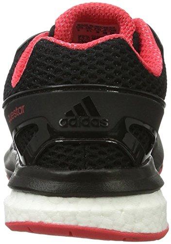 adidas Questar, Chaussures de Running Entrainement Femme Noir (Core Black/Core Pink/Ftwr White)