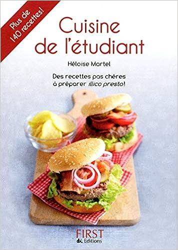 Petit Livre De Cuisine De L Etudiant 2e 9782754040914